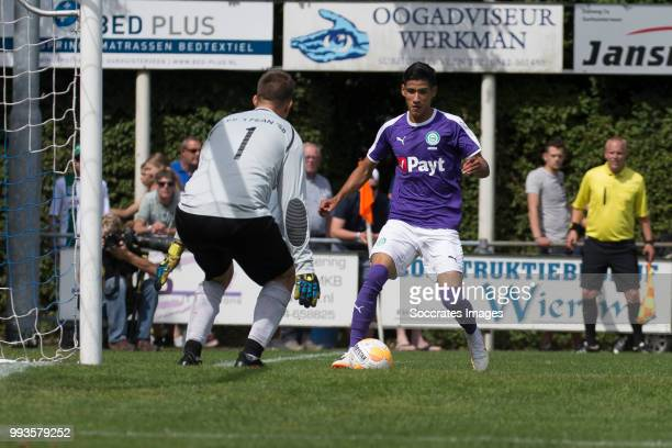 Uriel Antuna of FC Groningen during the Club Friendly match between vv 't Fean '58 v FC Groningen at the Sportpark It Ketting on July 7 2018 in...