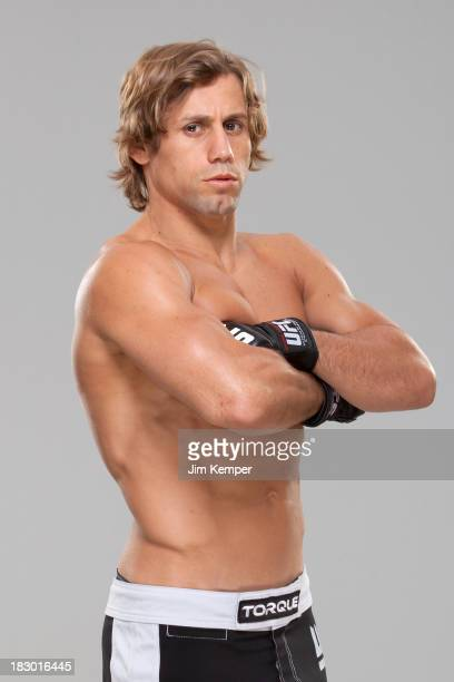 Urijah Faber poses for a portrait on February 20 2013 in Anaheim California