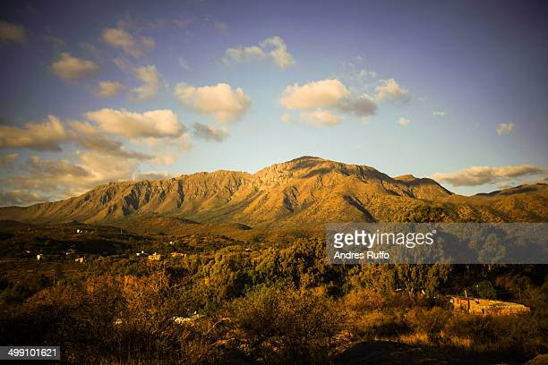 uritorco, capilla del monte, argentina - cordoba argentina stock pictures, royalty-free photos & images