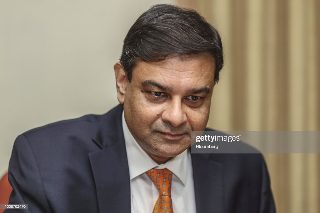 Reserve Bank of India Governor Urjit Patel Raises Interest Rate to Fight Inflation : News Photo