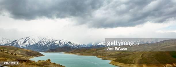 urmia river - lake urmia foto e immagini stock