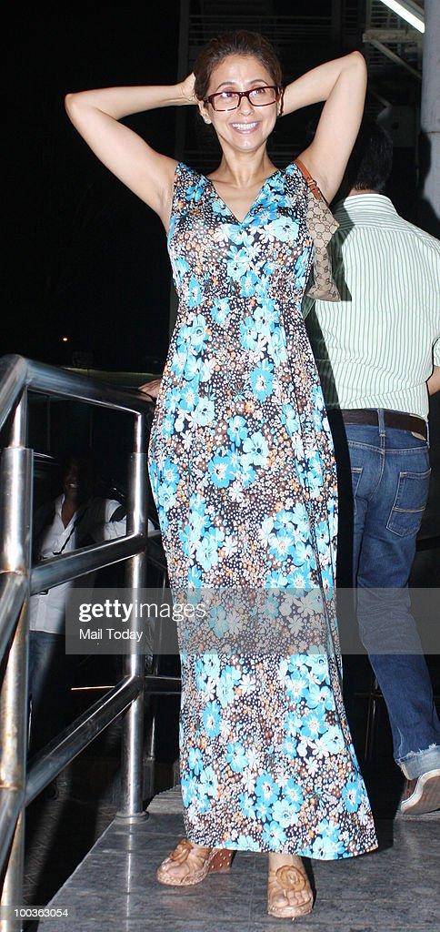 Urmila Matondkar at the preview of the film Kites in Mumbai on May 20, 2010.