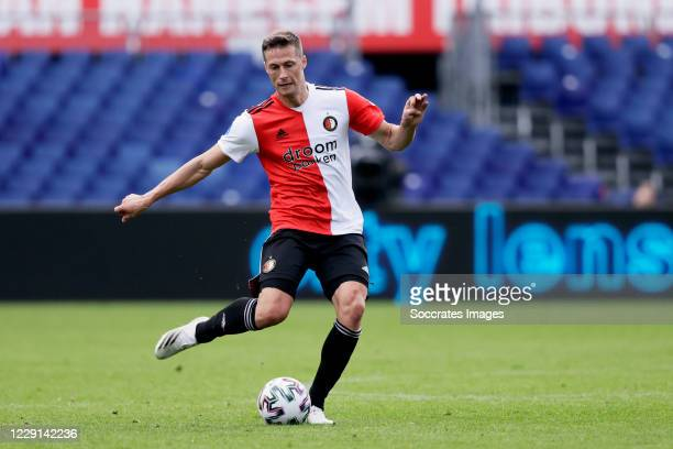 Uros Spajic of Feyenoord during the Dutch Eredivisie match between Feyenoord v Sparta at the Stadium Feijenoord on October 18 2020 in Rotterdam...
