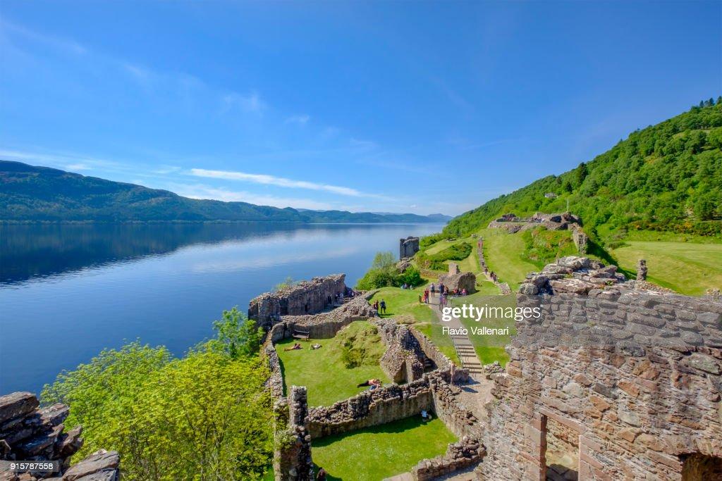 Urquhart Castle, Loch Ness, Scotland : Stock Photo