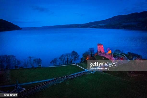 urquhart castle - loch ness stock pictures, royalty-free photos & images