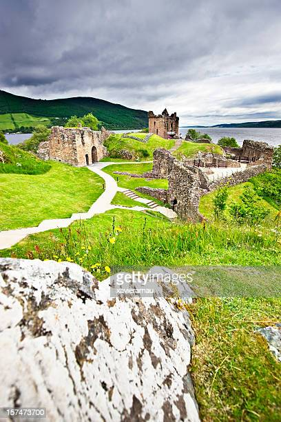 urquhart castle - inverness stock photos and pictures