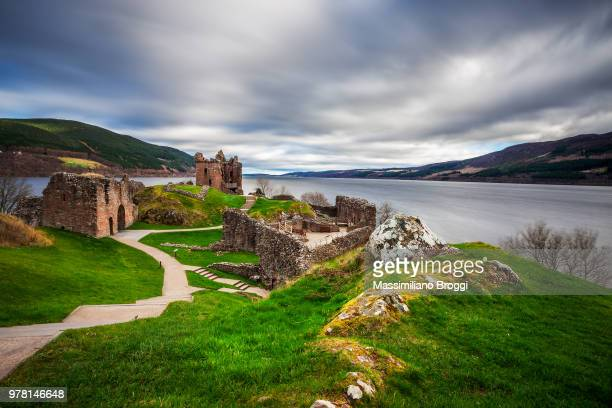 Urquhart Castle ruins, Scotland, UK