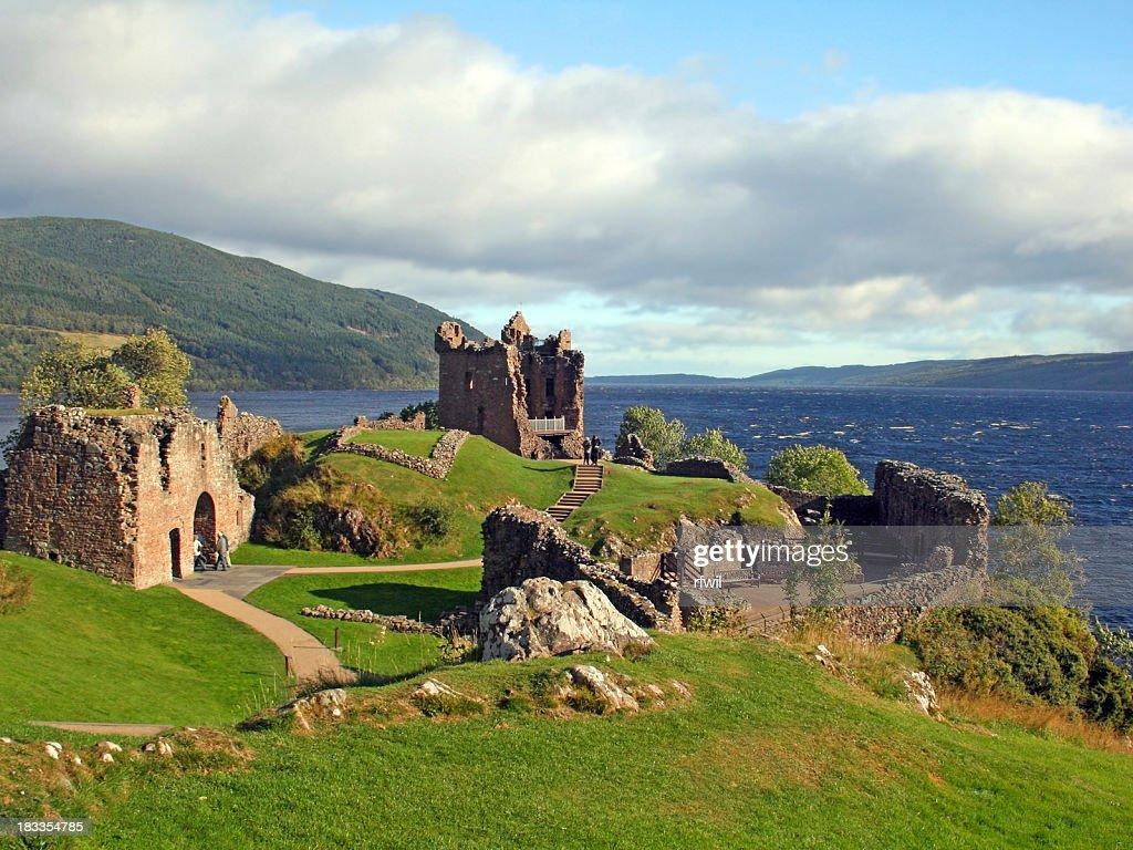 Schloss Urquhart, Schottland : Stock-Foto