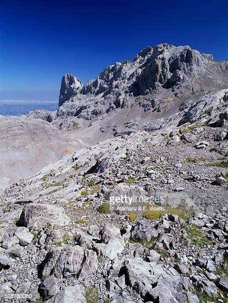 urriello summit in cantabria - alamany fotografías e imágenes de stock