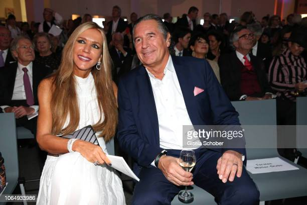 Urs Brunner and his wife Daniela Brunner during the PIN Party at Pinakothek der Moderne on November 24 2018 in Munich Germany