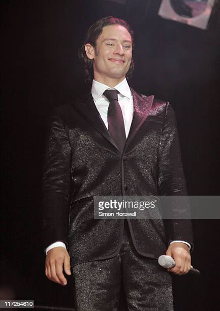 Urs Buhler of Il Divo during Petworth House Summer Series IL Divo Concert - July 16, 2006 at Petworth House, Petworth, West Sussex, UK in Petworth,...