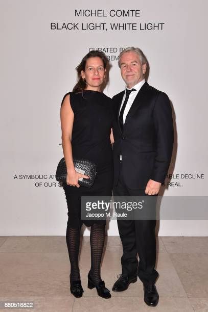 Urs Meile attends Michel Comte Black Light White Light Opening at Triennale di Milano on November 27 2017 in Milan Italy
