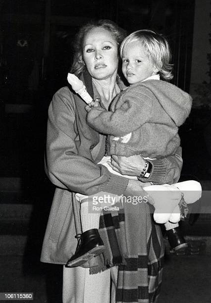 Ursala Andress and Dimitri Hamlin during Urusla Andress Sighting On her way to Easter Sunday Brunch April 11 1982 at Beverly HIlls Hotel in Beverly...