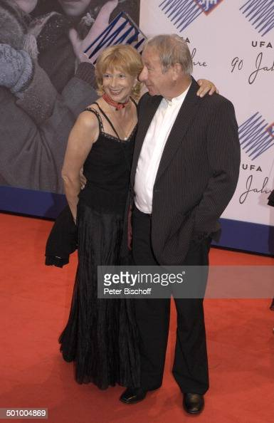 Ursela Monn, Ehemann Michael Wintzer, Geburtstagsgala 90 Jahre UFA, News Photo - Getty Images