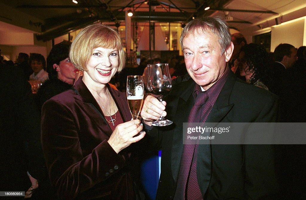 Ursela Monn, Ehemann Michael Wintzer,;Bambi-Verleihung, Berlin, News Photo - Getty Images
