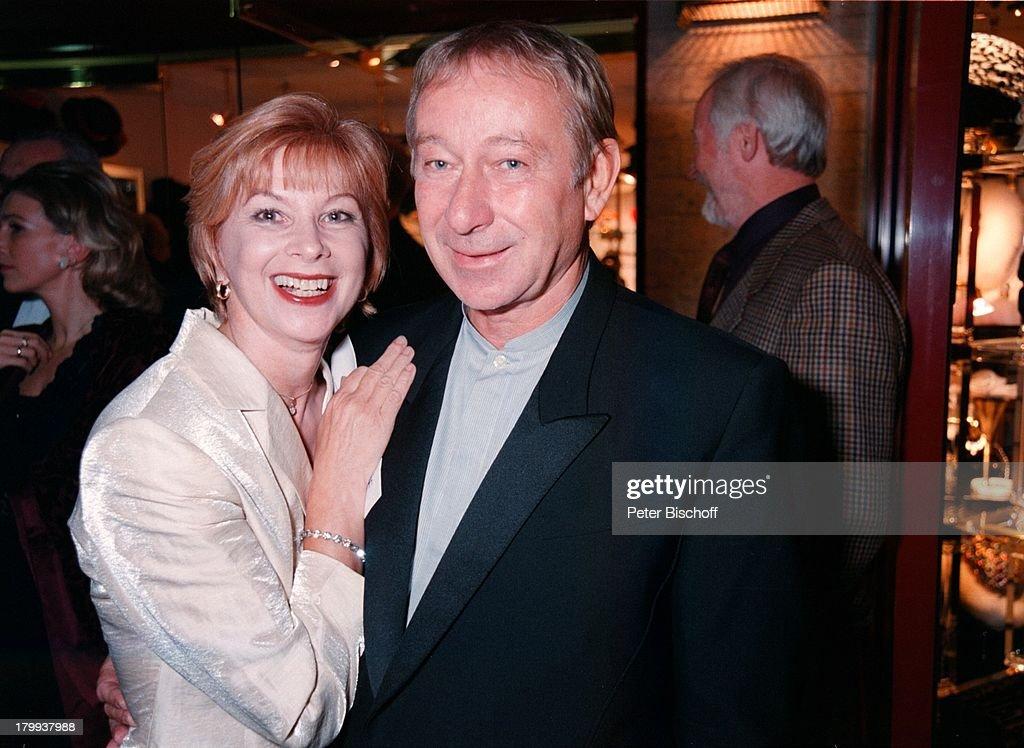 Ursela Monn mit Ehemann Michael Wintzer,;Telestar-Verleihung, Köln, News Photo - Getty Images