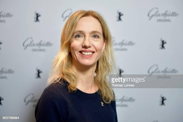 Ursina Lardi attends the Glashuette Original Lounge at The 68th Berlinale International Film Festival at Grand Hyatt Hotel on February 19 2018 in...
