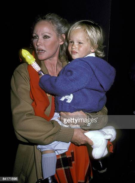 Ursula Andress and Son Dimitri Hamlin