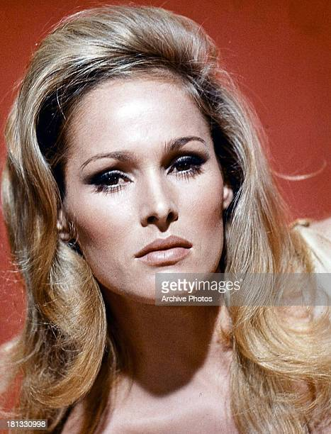 Ursula Andress in publicity portrait circa 1962