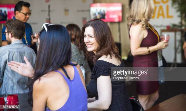 Ursula Burton attends the Women Filmmakers Event during 2017 Los Angeles Film Festival at Festival Lounge on June 16 2017 in Culver City California