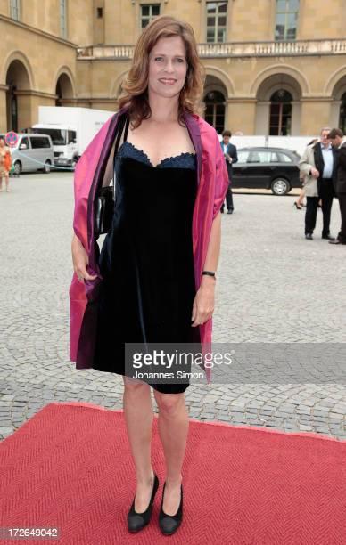 Ursula Buschhorn arrives for the Bernhard Wicki Award ceremony at Munich film festival on July 4 2013 in Munich Germany