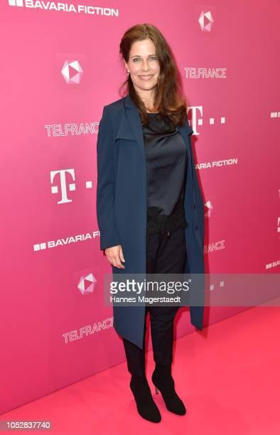 Ursula Buschhorn attends the DeutschLesLandes premiere at Haus der Kunst on October 23 2018 in Munich Germany