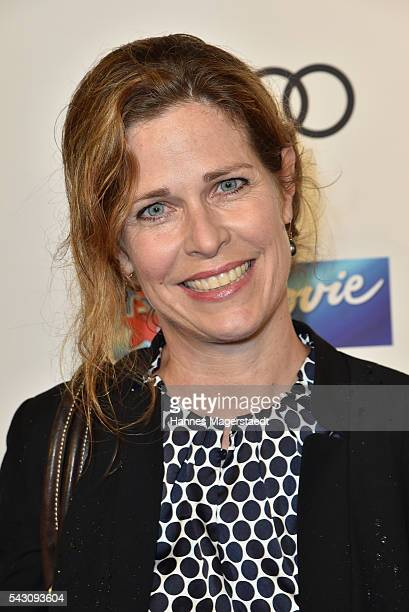 Ursula Buschhorn during the Audi Director's Cut during the Munich Film Festival 2016 at Praterinsel on June 25 2016 in Munich Germany