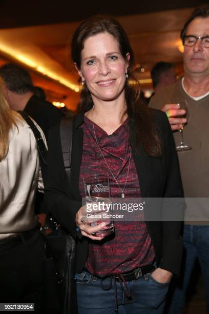 Ursula Buschhorn during the NdF after work press cocktail at Parkcafe on March 14 2018 in Munich Germany