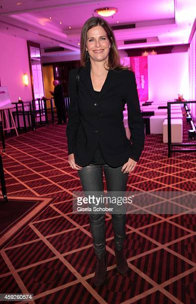 Ursula Buschhorn during the Video Entertainment Award 2014 on November 19 2014 at Hotel Westin Grand in Munich Germany