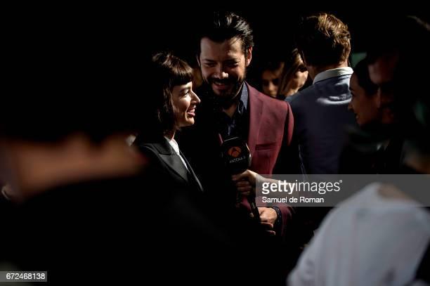 Ursula Corbero attends 'La Casa de Papel' Madrid Premiere on April 24 2017 in Madrid Spain