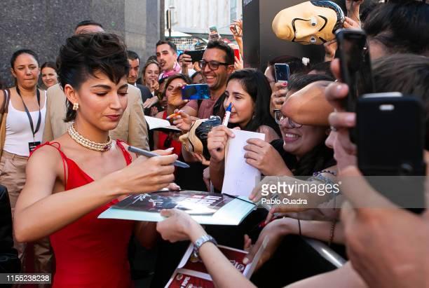 Ursula Corbero attends the red carpet of 'La Casa De Papel' 3rd Season by Netflix on July 11, 2019 in Madrid, Spain.