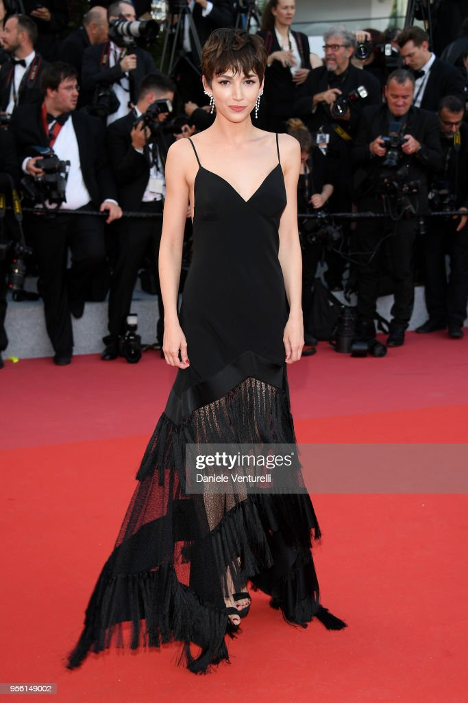 Ursula Corbero attends the screening of 'Everybody Knows (Todos Lo Saben)' and the opening gala during the 71st annual Cannes Film Festival at Palais des Festivals on May 8, 2018 in Cannes, France.