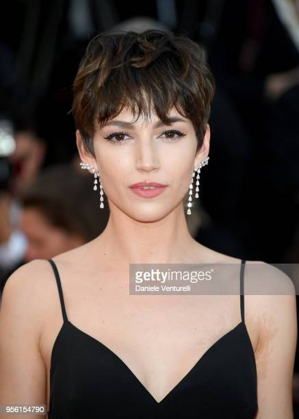 Ursula Corbero attends the screening of Everybody Knows and the opening gala during the 71st annual Cannes Film Festival at Palais des Festivals on...