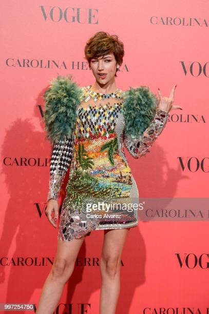 Ursula Corbero attends Vogue 30th Anniversary Party at Casa Velazquez on July 12 2018 in Madrid Spain