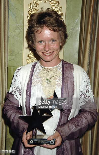Ursula HoldenGill poses with the award for Best Soap Actress at the TV Quick TV Choice Awards acknowledging the most popular TV programmes and stars...
