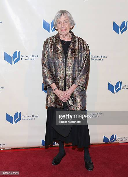 Ursula K Le Guin attends 2014 National Book Awards on November 19 2014 in New York City