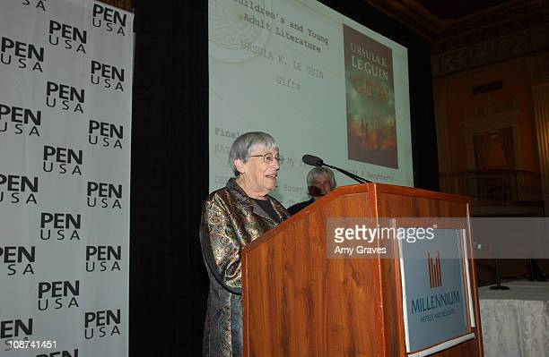 Ursula K Le Guin during 15th Annual Literary Awards Festival to Benefit PEN USA at Millennium Biltmore Hotel in Los Angeles California United States
