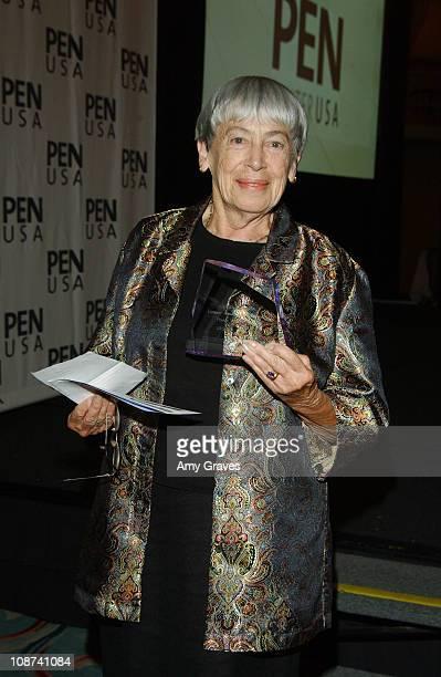Ursula K Le Guin recipient of the Literary Award for Children's Literature