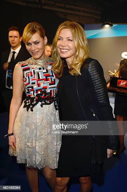 Ursula Karven and Gesine Cukrowski attend the Mira Award 2015 at Station on January 29 2015 in Berlin Germany