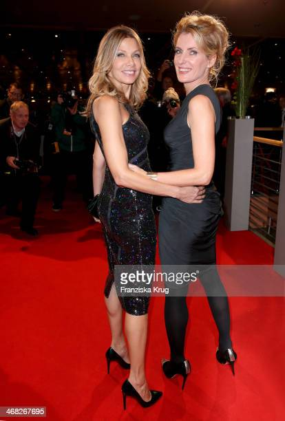 Ursula Karven and Maria Furtwaengler attend the Opening Party 64th Berlinale International Film Festival at Berlinale Palast on February 06 2014 in...