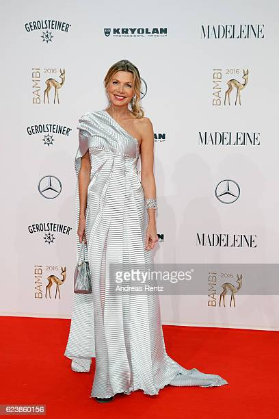 Ursula Karven arrives at the Bambi Awards 2016 at Stage Theater on November 17 2016 in Berlin Germany
