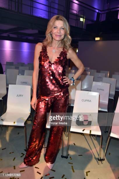 Ursula Karven attends the 99FireFilms Award after show party during the 69th Berlinale International Film Festival at Umspannwerk Kreuzberg on...