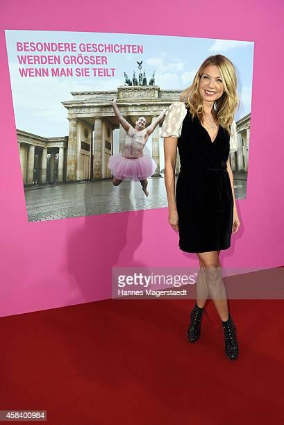 Ursula Karven attends the 'CLOSER Magazin Hosts SMILE Award 2014' at Hotel Vier Jahreszeiten on November 4 2014 in Munich Germany