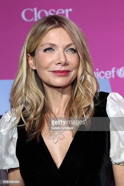 Ursula Karven attends the CLOSER Magazin Hosts SMILE Award 2014 at Hotel Vier Jahreszeiten on November 4, 2014 in Munich, Germany.