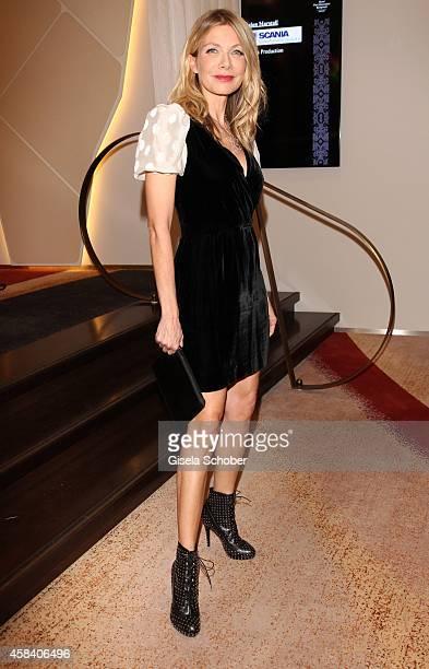 Ursula Karven attends the CLOSER Magazin Hosts SMILE Award 2014 at Hotel Vier Jahreszeiten on November 4 2014 in Munich Germany