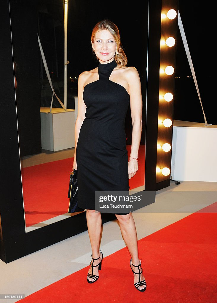 Ursula Karven attends the German Films reception during the 66th Annual Cannes Film Festival at the Majestic Beach on May 20, 2013 in Cannes, France.
