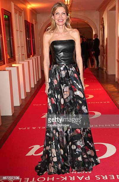 Ursula Karven wearing a dress by Michael Michalsky during the Gala Spa Awards 2015 at Brenners ParkHotel Spa on March 21 2015 in BadenBaden Germany