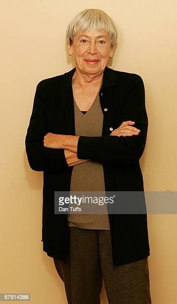 Ursula Le Guin at home in Portland Origon California December 15 2005