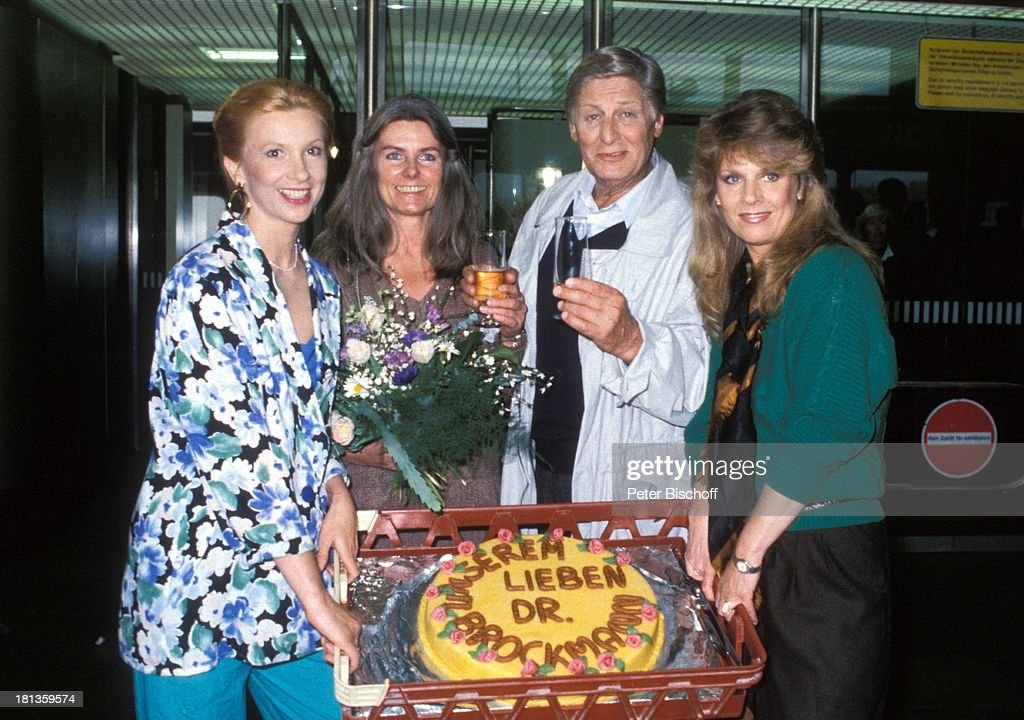 Ursula Monn, Lilo Pfitzmann, Günter Pfitzmann, Heidi Brühl, (v.l ...