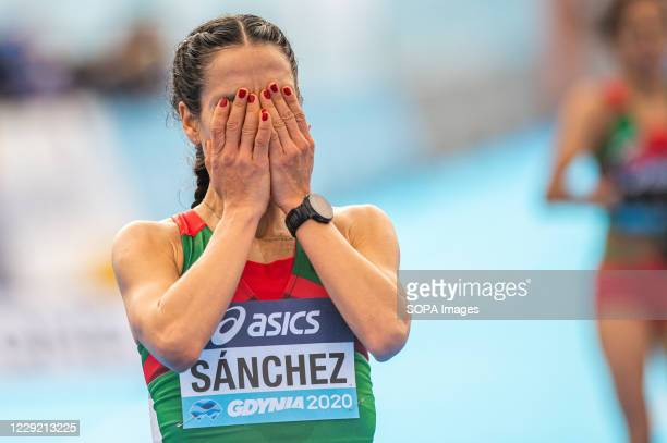 Ursula Patricia Sanchez of Mexico in action during 2020 IAAF World Half Marathon Championships in Gdynia